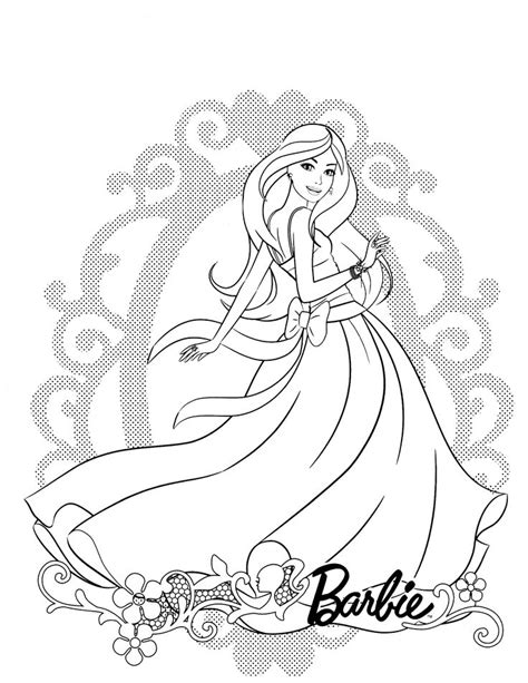 barbie coloring pages doll palace 85 barbie coloring pages for girls barbie princess