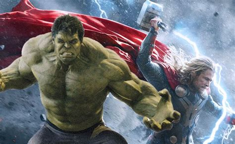 will vision show up in thor 3 guardians 2 or captain thor hulk vs every other avenger mcu battles comic