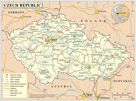 Motorradfahren Czech Republic by карта чехии подробная на русском языке на туристер ру