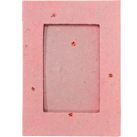 Handmade Paper Photo Frames - handmade paper frame with pink flowers from peru quot now 20