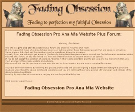 Anorexia Chat Room by Fading Obsession Fading Obsession Pro