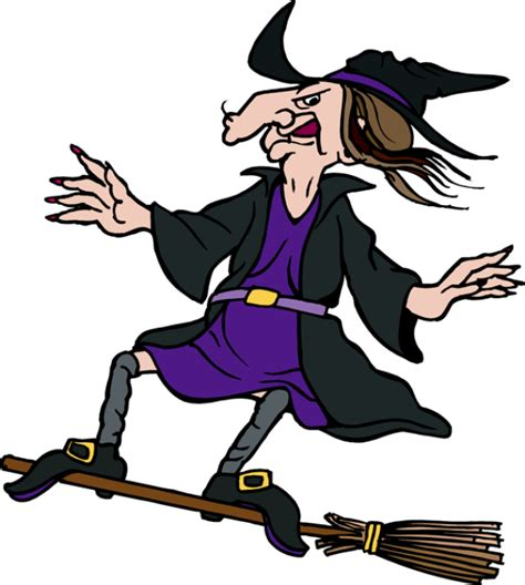 Witch On A Broomstick Clipart witch on a broom clipart clipartxtras