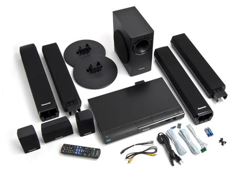panasonic 5 1 home theater system with true cinema
