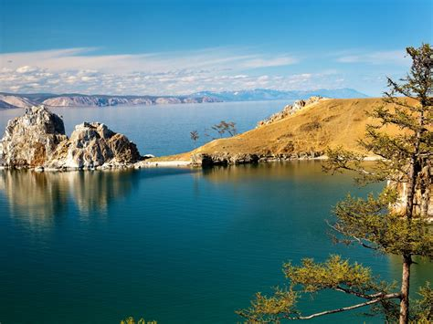 scenery russia lake baikal nature  wallpaperscom