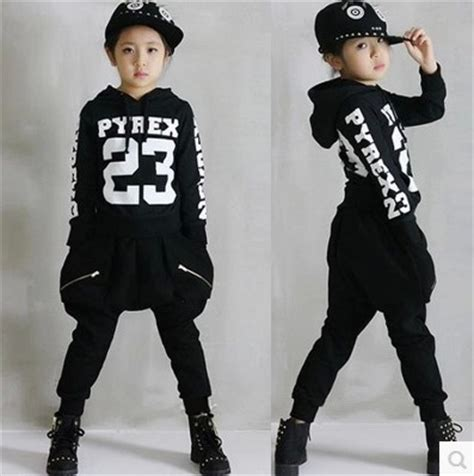 Hip Hop Wardrobe by Aliexpress Buy Children S Hip Hop Clothing Sets Boys