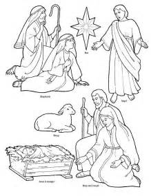 nativity coloring page nativity free patterns coloring pages