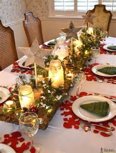 Christmas Table Settings by Winter Wonderland Christmas Tablescape Her Tool Belt