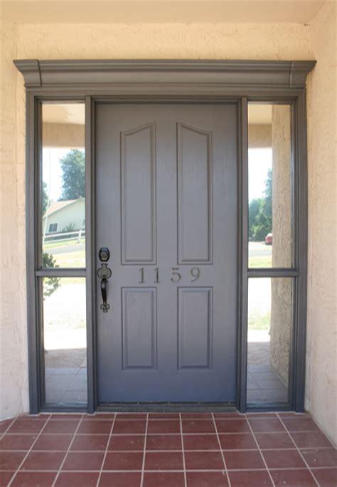 Gray Front Door by New Favourite Grey Killam The True