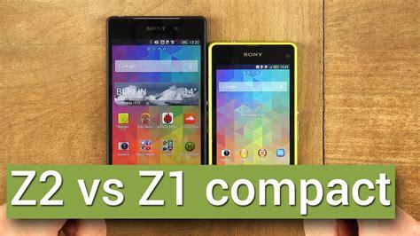 Sony Xperia Z2 Compact sony xperia z2 vs sony xperia z1 compact direkter