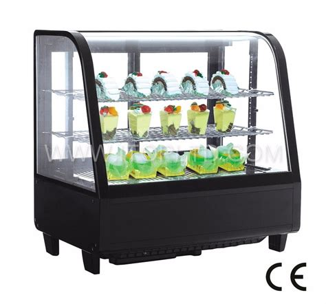 Countertop Display Chiller by 2016 Economic Mini Front Curved Glass Countertop Cake