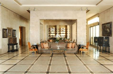 fusion style interiors  lebanese influence