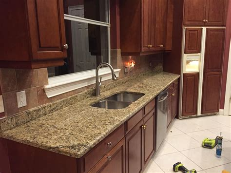 Santa Granite Countertops by Kitchen Simulator Balonek Tile