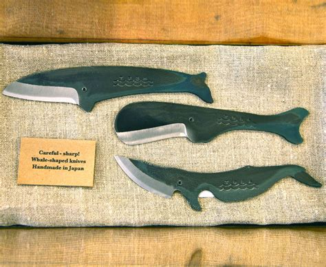 Types Of Knives Kitchen whale shaped knife