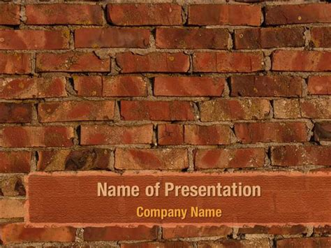 brick templates brick wall powerpoint templates brick wall powerpoint