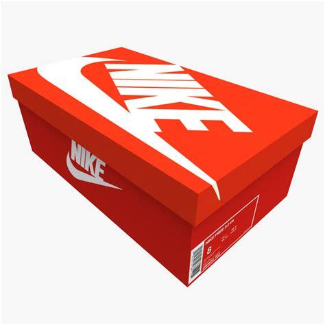 sports boxes 3d box shoes sport model