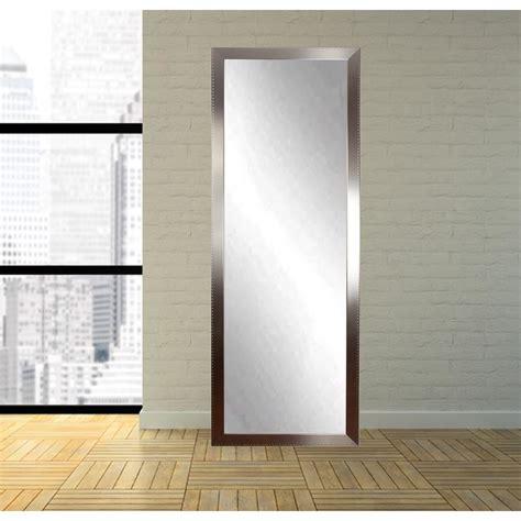 full length bathroom mirrors embossed steel full length wall mirror bm26thin the home