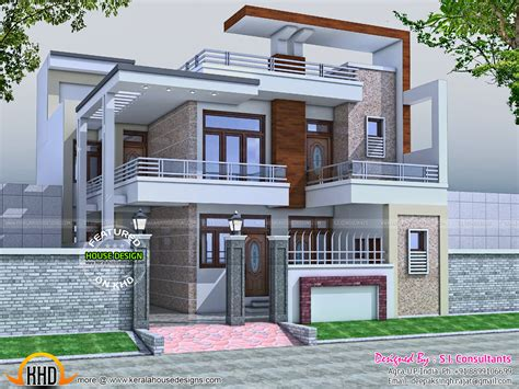 home design plans with photos in india 32x60 contemporary house kerala home design and floor plans