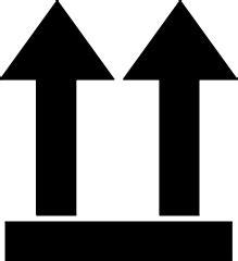 Paket Size3 file thiswayup svg wikimedia commons