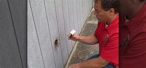how to replace an outdoor electrical and cover