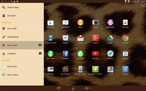 sony themes apps here s how sony s android 4 3 xperia themes look on the