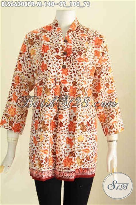 desain baju batik santai baju batik blus bahan paris hadir dengan desain terkini