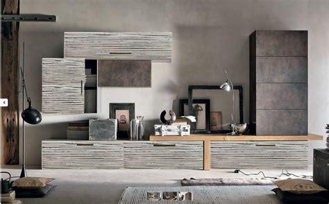 mobili soggiorno moderni outlet soggiorno moderno etnico in legno e crash bambu in offerta