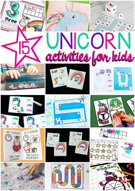 Unicorn Papercraft - printable letter u craft unicorn with