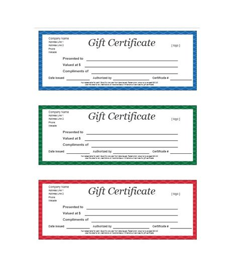 gift certificate free template download node494 cvresume cloud