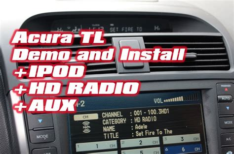 Isimple Acura Tl by Acura Tl Ipod Hd Radio With Isimple Pxamg Hdrt By