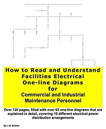 reading one line diagrams how to read and understand facilities electrical one line