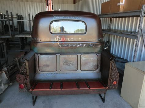 truck bench 1949 ford truck cab bench is complete jason barnett quot artist quot