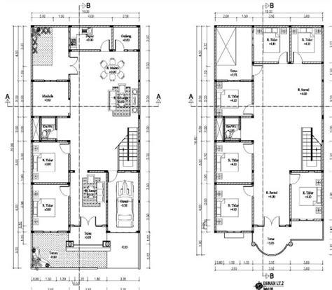 desain rumah ukuran 6x12 meter denah rumah minimalis 2 lantai ukuran 6 215 12 rumah minimalis