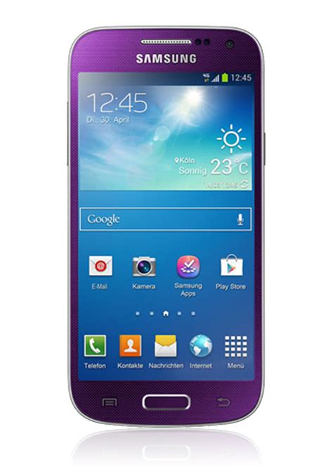 Galaxy S4 Mini Preis 2640 by Samsung Galaxy S4 I9505 Mit 16 Gb Lte In Purple Mirage Mit