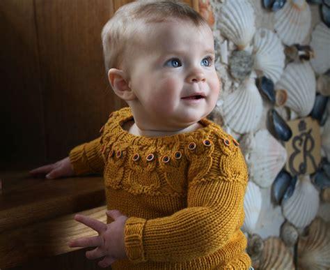 knitting pattern owl sweater owlet kate davies designs