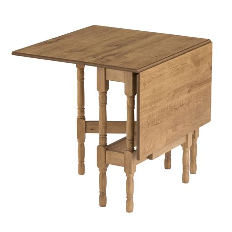 folding kitchen tables drop leaf table heatproof folding dining kitchen gateleg oak rectangular seats 6 ebay