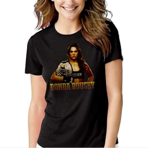 T Shirt Rowdy Ronda Rousey Ufc new rowdy ronda rousey ufc fighting t shirt for