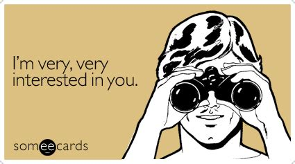 i m interested in you flirting ecard