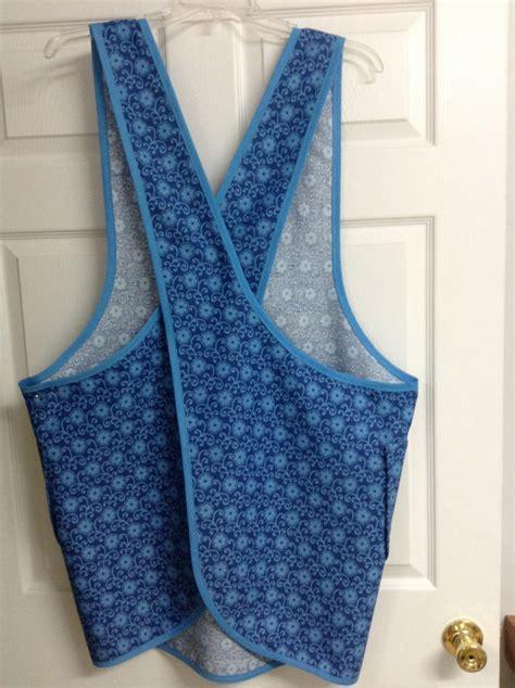 sewing apron straps pattern plus size cross strap apron pdf pattern plus size 1x