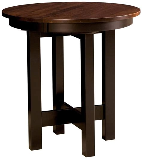 Solid Wood Bar Table And Stools by Lacrosse Bar Height Table Countryside Amish Furniture