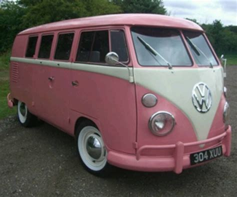 van volkswagen pink love at sight i want pretty please pinterest