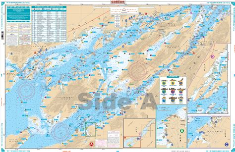 map thousand islands the thousand islands fishing nautical chart