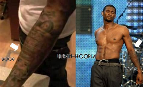 usher tattoos usher tattoos