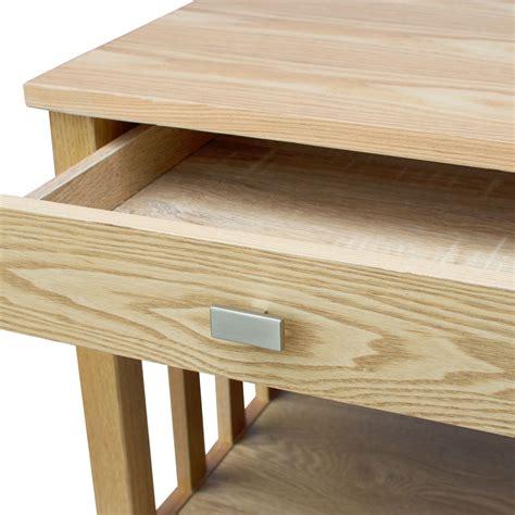 ashton 1 drawer l side table bedside cabinet furniture