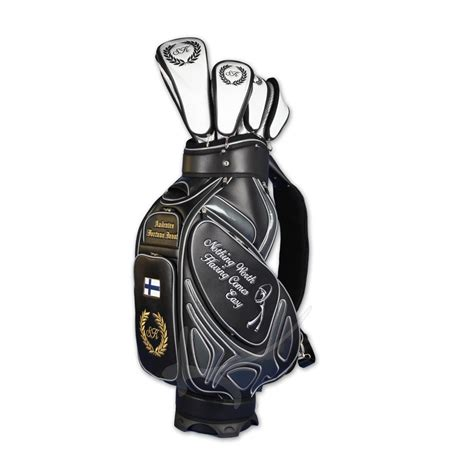 golf bag tour bag 6 custom areas handmade kellermann