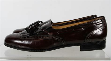 maroon oxford shoes salvatore ferragamo maroon oxford shoes size 11 c ebay