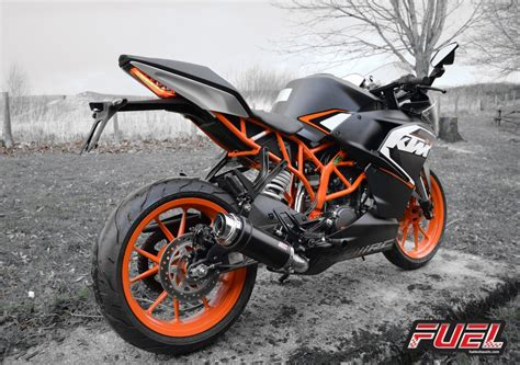 Ktm Rc Fuel Exhausts