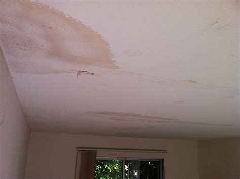 How To Fix Water Stains On Ceiling by Water Stains In A Sacramento Ceiling Who Do You Call