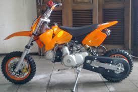 Motor Bebek Oranye galeri gambar modifikasi supra fit jadi trail