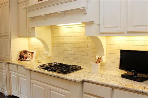 backsplash for yellow kitchen just picture pale yellow subway tile subway tile