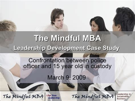 Cs And Mba by The Mindful Mba Leadership Development Study March